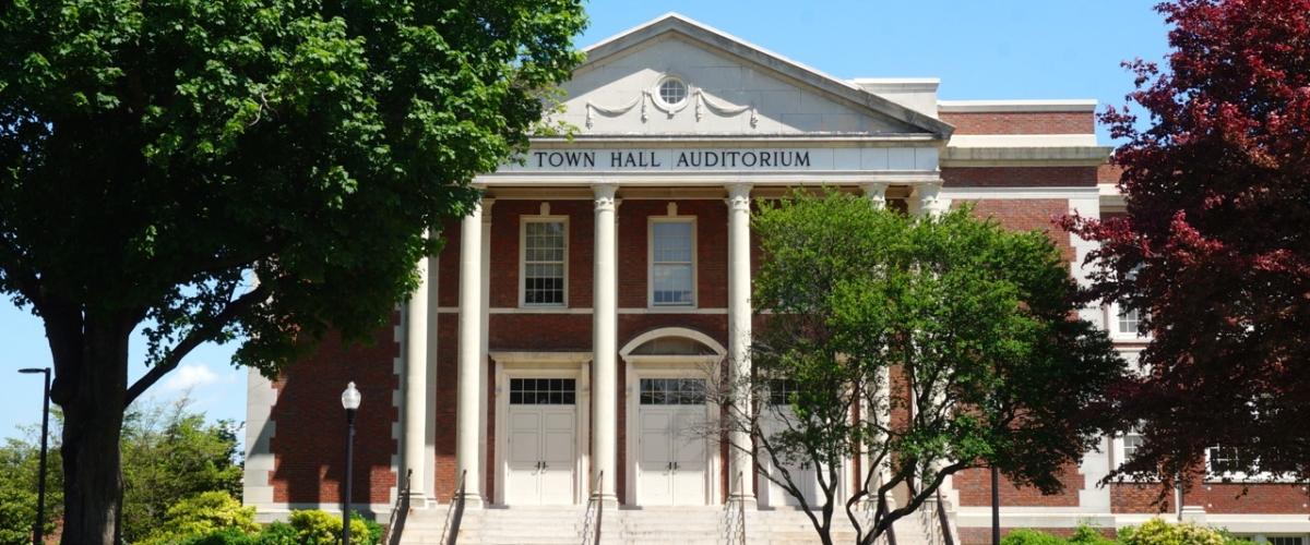 West Hartford Town Hall Auditorium